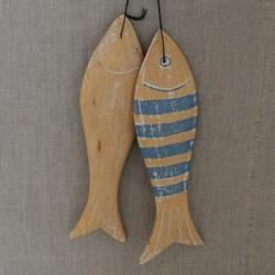 Poteries de vallauris coquetiers en argenterie brocante for Deco poisson bois
